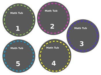 Classroom/Math Labels