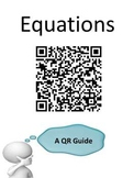 Classroom/Study Guide Using QR Codes - Equations