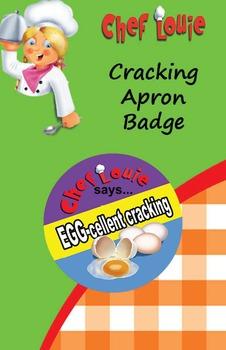 Classroom Set - Cracking Eggs Apron Reward Badge - How to