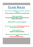 Classrules - Aussie version