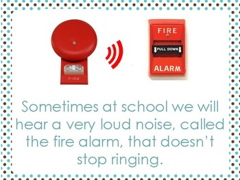 Classwide Fire Drill Social Narrative