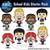 Classy Kids Clip Art Starter Pack - 16 PIECE BUNDLE! Eleme