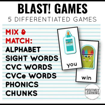 Classy! Phonics and Sight Word Blast Game