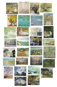 Claude Monet - 20 public domain pictures to use for anything you like!