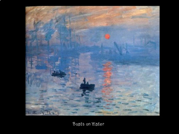 Claude Monet - Haiku - Using Art to Write Haiku