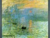 Claude Monet Art SHOW + TEST = 253 Slides - Impressionism