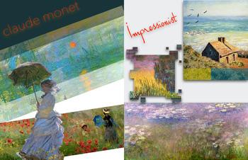 Claude Monet - Impressionism Impressionist - FREE POSTER