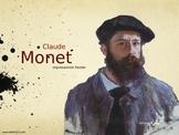 Claude Monet Art History Unit Study