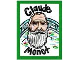 Claude Monet- Artist Poster