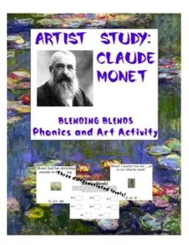 Claude Monet Blending Blends