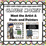 Claude Monet - Poetry & Famous Artists Biography Unit Bund