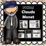 Claude Monet - Famous Artist Art & Bio Units- Bundle - DIS