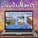 Interactive Art History - Claude Monet - Digital Artist Bi