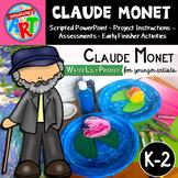 Claude Monet's Magical Garden Grades K-2