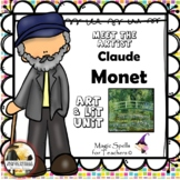 Claude Monet - Meet the Artist - Famous Artists Art Unit - Art Biography Unit