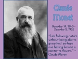 Claude Monet Slideshow