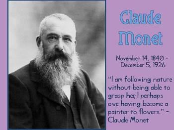 Claude Monet Slideshow