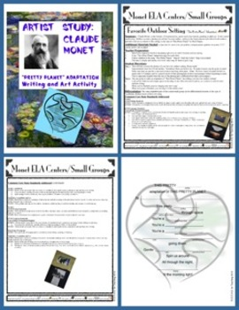 Claude Monet Song Adaptation:  An Integrated Writing, Art, and Music Activity