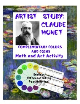 Claude Monet's Complementary Colors Coin Activity