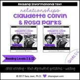 Claudette Colvin & Rosa Parks • Reading Comprehension Pass