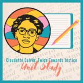 Claudette Colvin: Twice Toward Justice Unit Study