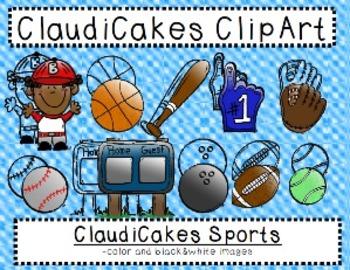 ClaudiCakes Sports Clip Art