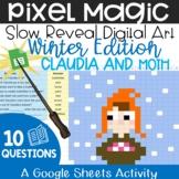 Claudia and Moth - A Pixel Magic Activity