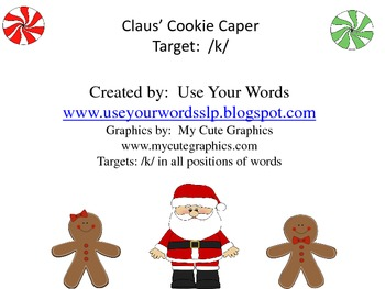 Claus' Cookie Caper