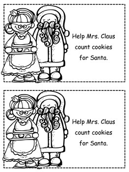Christmas Claus' Cookies Emergent Reader