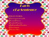 Sentence Parts Mini Lesson