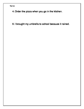 Grammar: Clauses