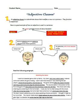 Clauses - Clause
