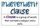 Clauses- Display