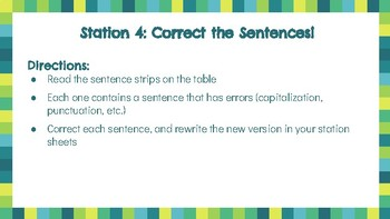Clauses, FROCS, Capitalization Grammar Stations!