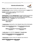 Clauses Study Guide: Independent & Dependent Clauses, Explanations, & Examples