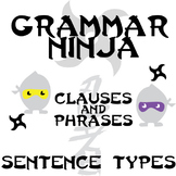 Clauses and Phrases - 4 Types of Sentences - Grammar Ninja