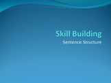 Clauses and Sentence Structure