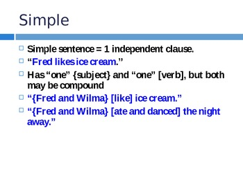 Clauses and Sentence Types