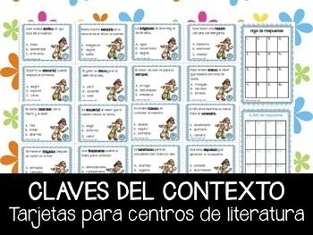 Claves del Contexto - Tarjetas para centros