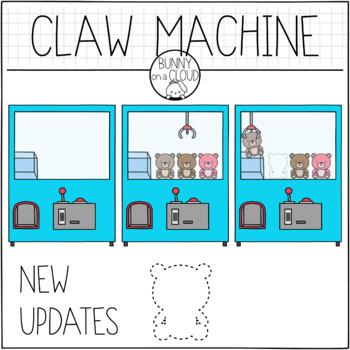 Claw Machine Clipart By Bunny On A Cloud