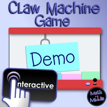 Claw Machine Interactive Game Demo