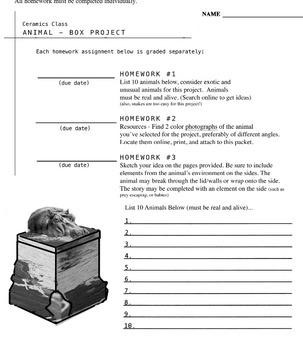 Clay - Animal Box Project