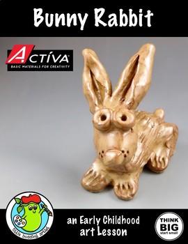 Clay - Bunny Rabbit Art Lesson