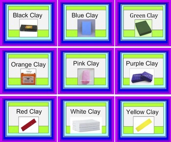 Clay Color Labels