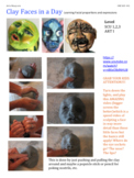 Clay Face in a Day!
