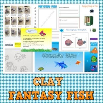 Clay Fantasy fish project