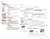 Clay Guided Notes and Quiz