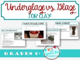 Clay: How to Glaze