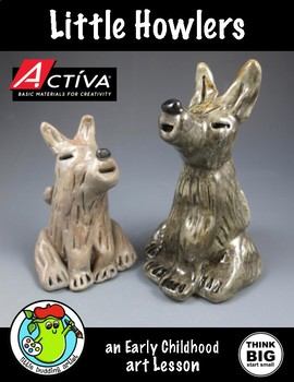 Clay - Little Howlers Wolf Art Lesson