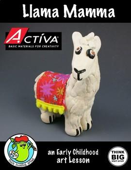 Clay - Llama Mamma Art Lesson